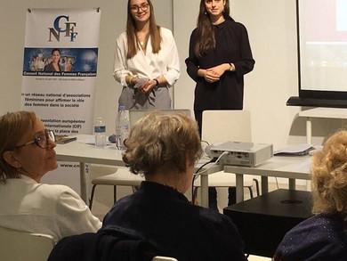 Voix de jeunes femmes goes Paris!