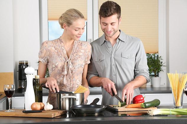 🍽 Wir kochen jetzt immer zusammen