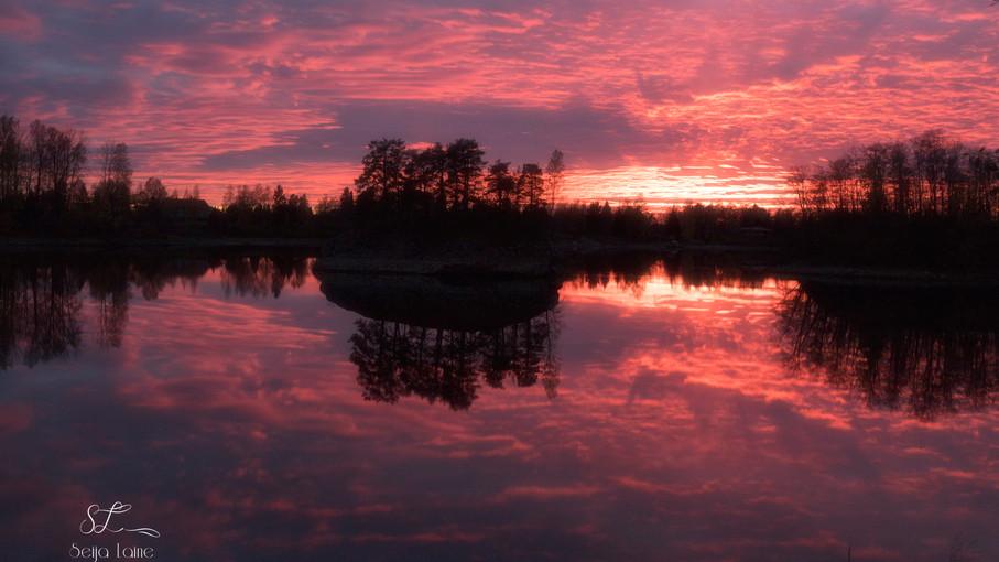 Auringonlasku Kuurolassa 2