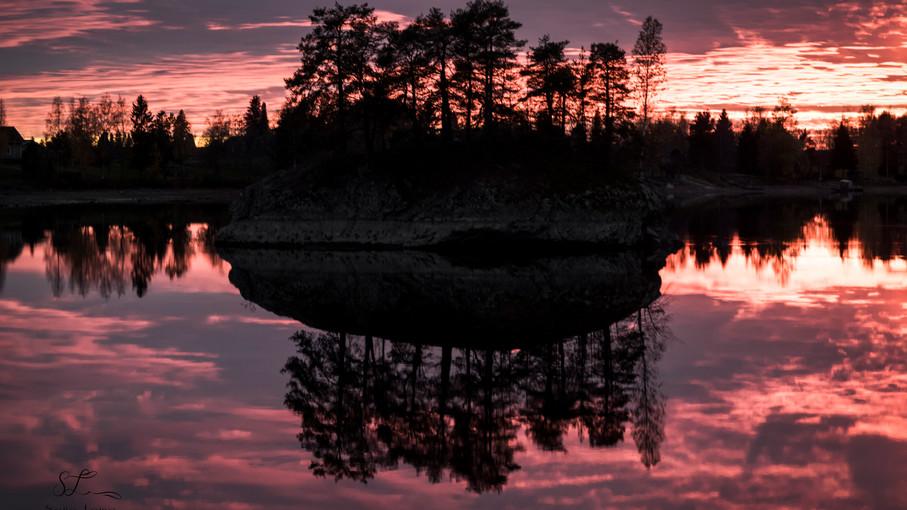 Auringonlasku Kuurolassa
