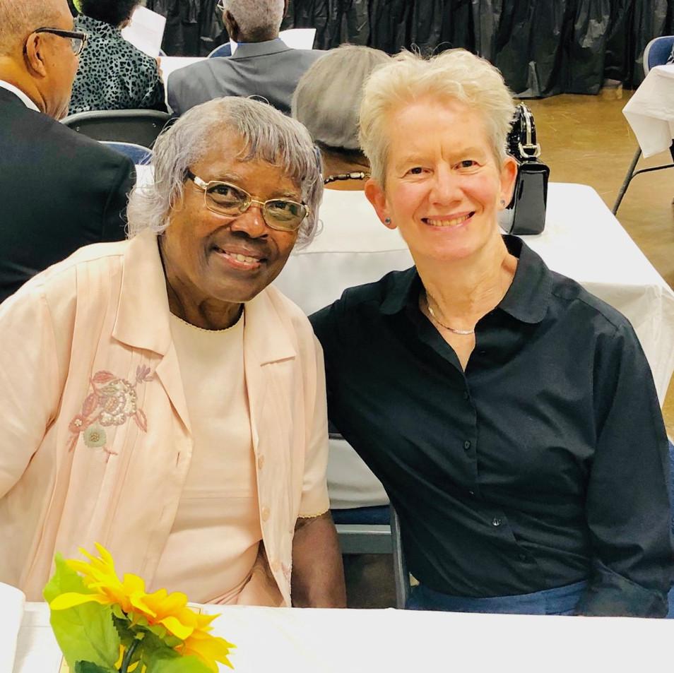 Evelyn Sturtevant and Diane Kent