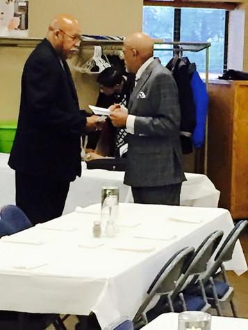 Mr. Nelson Graves & Pastor Joseph Walker, Lifetime Hall of Fame Club