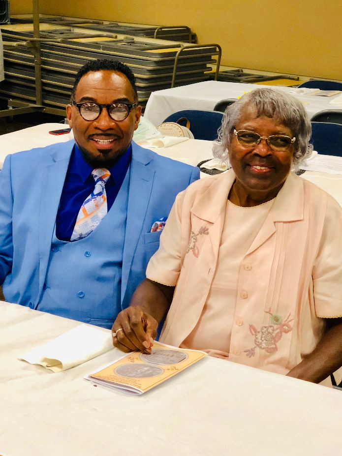 Pastor Floyd Miles and Evelyn Sturtevant