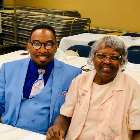 Pastor Floyd Miles and Evelyn Sturtevant