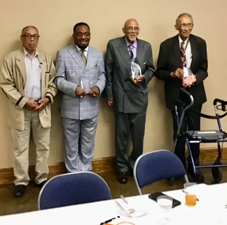 2018 Hall of Fame Members. Missing from photo is Mrs. Rita Robinson Redder.