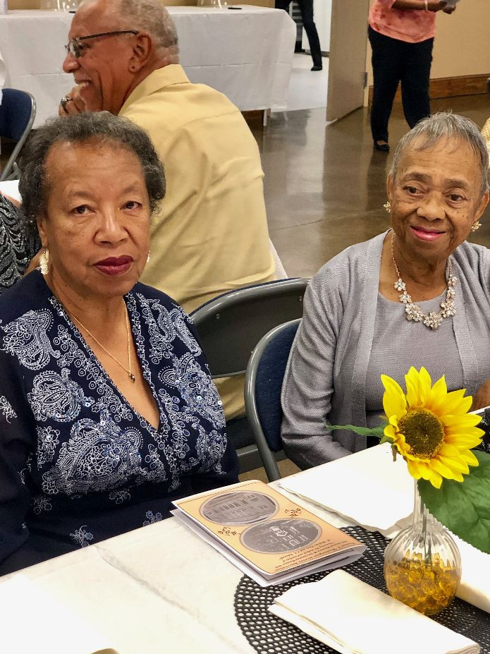 Opal Nelson and Dorothy Dunnings