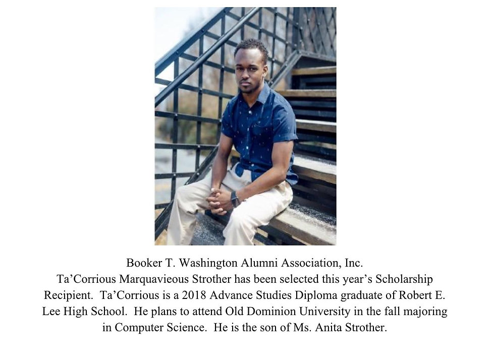 Ta'Corrious Strother _2018 Scholarship R