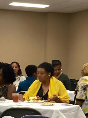 Mrs. Elizabeth Maddox Carter & guests