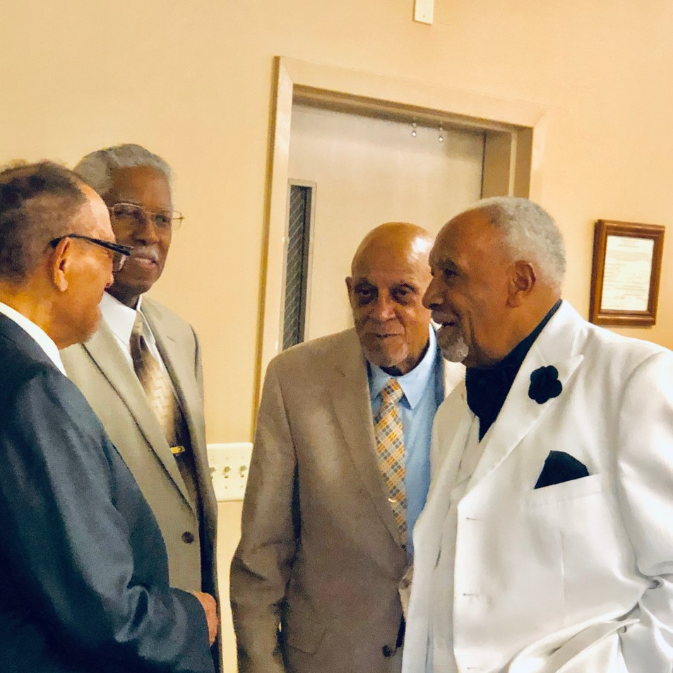 Left to right - Jimmy Rucker, Robert Haston, Joseph Walker, and Ted Maddox