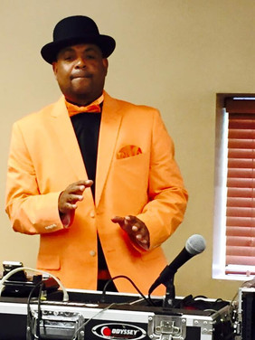 DJ Derek Frye, sporting the BTW colors.