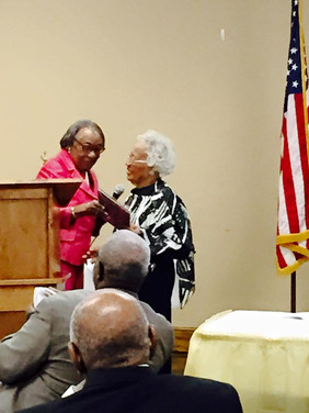 Mrs. Virginia Perry & Mrs. Thelma Brown the Honoree