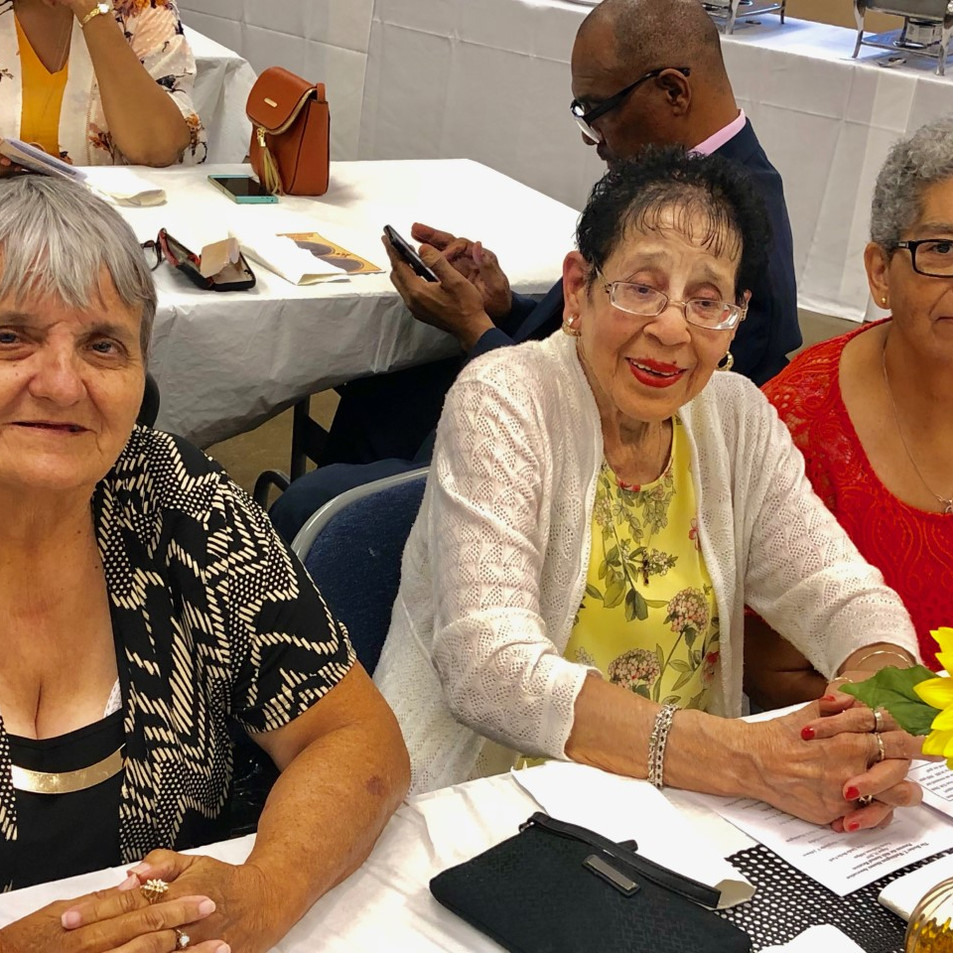 Patty Smith, Kathleen Scott and Margaret Lyle