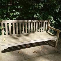 Bench at Bramham Garden
