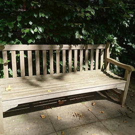 Bench at Bramham Garden