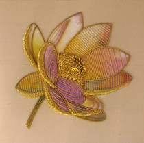 Gold work Water Lily