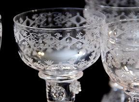 英国アンティーク,ガラス器,アンティークグラス