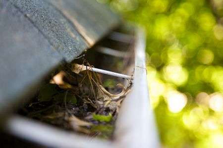 Gutter system cleaning