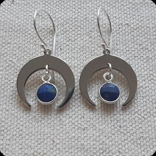 Lapis Lazuli - Silver