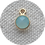 Blue Chalcedony - Gold