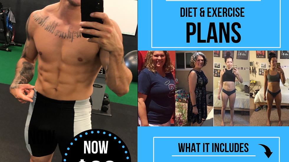 8 WEEK DIET & EXERCISE PLAN