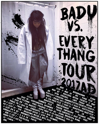"Erykah Badu Launches ""Badu vs. Everythang"" Tour"