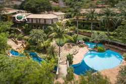 Hotel Canto das Águas - Vista Aérea