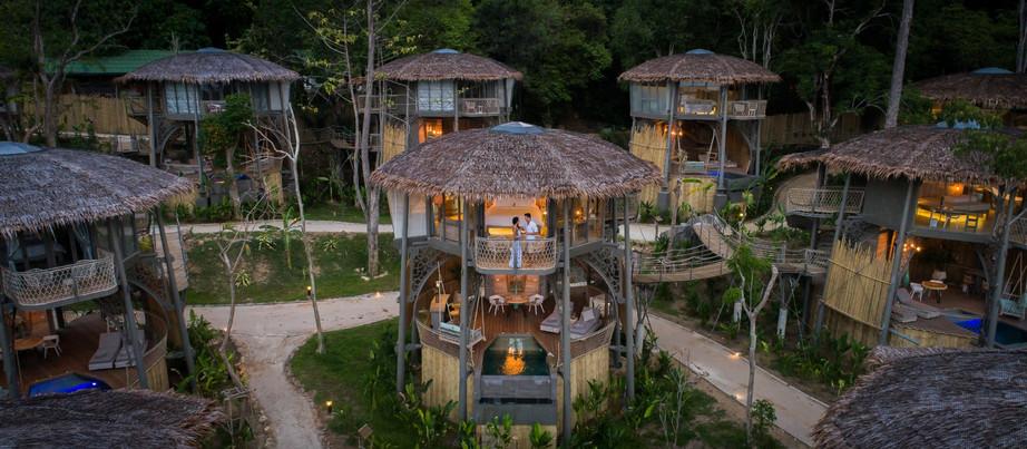 Tree House Villas – Koh Yao - Tailândia.