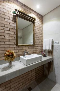Hotel Canto das Águas - Apto- Banheiro