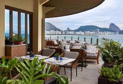 Fairmont Rio de Janeiro - Restaurannte Externo