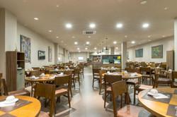 Hotel Laghetto Alegro Pedras Altas- Área do Café da manhã