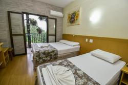 Vilage Inn All Inclusive Poços de Caldas- Apto Triplo