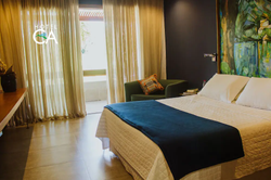 Hotel Canto das Águas - Apto Duplo cASAL - Varanda