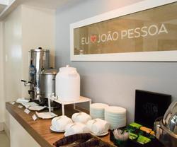 Village Confort Hotéis e Flat João Pessoa - Café da manhã