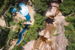 Hotel Canto das Águas- Vista Aérea