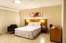 Hotel Praia Centro - Apto Duplo Casal.