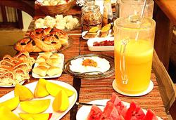 Pousada Vila dos Pássaros - Buffet - Café da manhã