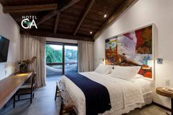 Hotel Canto das Águas - Apto Duplo Casal - Varanda (2)