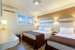 Luz Hotel- Apto Triplo