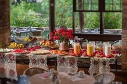 Hotel Canto das Águas - Buffet - café da manhã