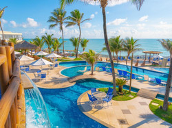 Ocean Palace Beach Resort e Bungalows - Área externa