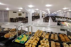 Mirante Hotel - Café da manhã - Buffet