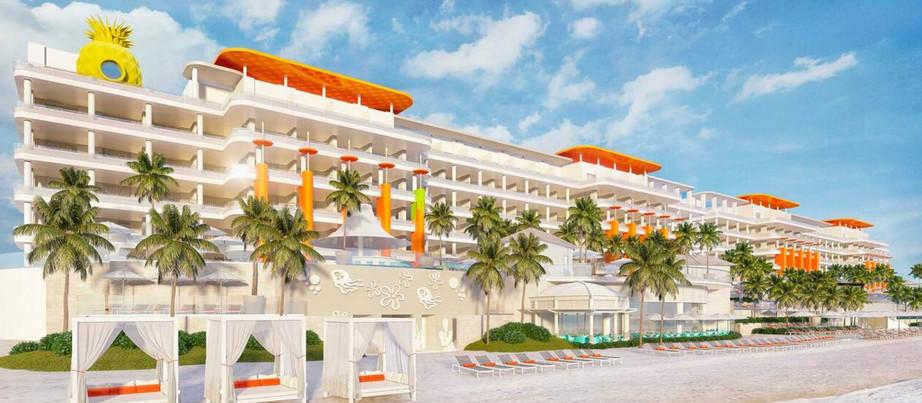 Resort e parque aquático do Bob Esponja são a nova atração de Cancún