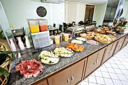 Aram Ponta Negra - Café da manhã - Buffet
