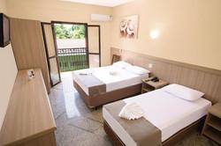 Vilage Inn All Inclusive Poços de Caldas - Apto Triplo - varanda