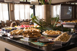 Village Barra Hotel - Café da manhã -Buffet-