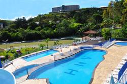 Vilage Inn All Inclusive Poços de Caldas - Área Externa  - Piscina