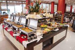 Hotel Estação 101 Itajaí - Café da manhã - buffet