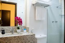 Hotel Estação 101 Itajaí - Apto - Banheiro