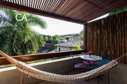 Hotel Canto das Águas - Apto Duplo Casal - Varanda (3)