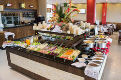 Hotel Estação 101 Itajaí - buffet - café da manhã